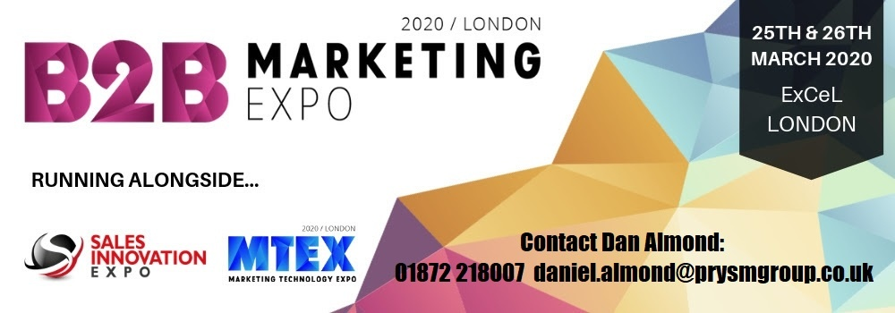 B2B Marketing Expo | MTEX | Sales Innovation Expo