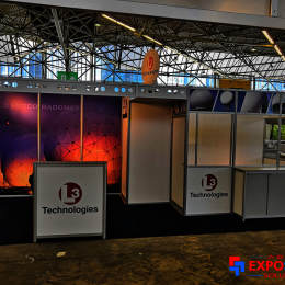 RAI Amsterdam, Adam Expo Stand Solutions exhibit stands supplier for L3