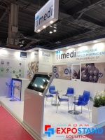 Adam Expo Stand design at PHARMAGORA PLUS - The Largest Pharmacy Event in France
