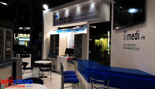 Congreso farmacéutico Infarma, tendencias en diseño de stands