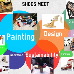 Show Me Your Expo Shoes and... The Creative Designers Will Tell You More
